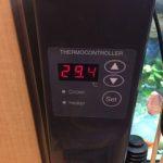 水槽用クーラーの冷却能力強化:追加ファンの連動