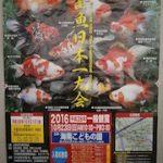 金魚の品評会・即売会:全国のイベントスケジュール